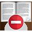 book, remove