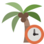 palm, clock
