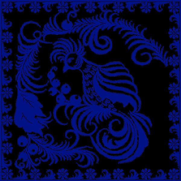 хохлома, декоративная роспись, орнамент, народный промысел, синий, decorative painting, folk craft, blue, dekorative malerei, ornament, volkshandwerk, blau, peinture décorative, ornement, artisanat populaire, bleu, arte popular, pittura decorativa, artigianato popolare, blu, khokhloma, pintura decorativa, ornamento, artesanato popular, azul, декоративний розпис, народний промисел, синій