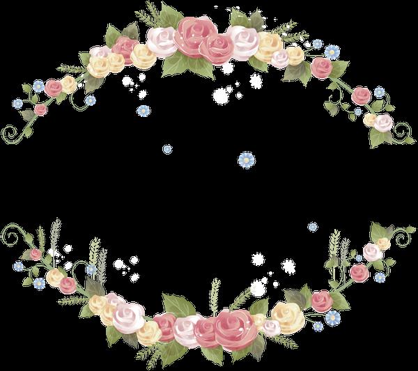 Bordes Decorativos Para Imagenes Con Flores Modernas