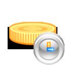 coin clock 128