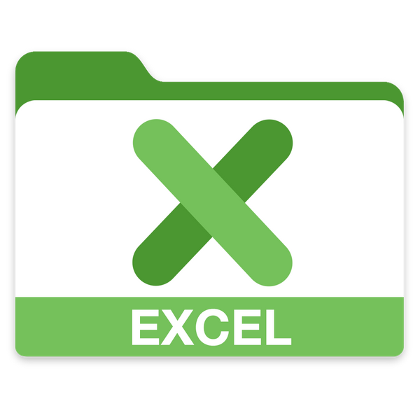 excel folder by scaz - download free icon Flader Microsoft
