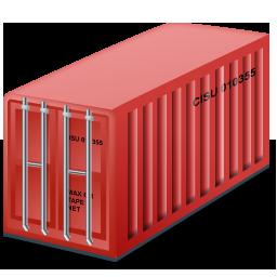 контейнер, container, red, грузоперевозки