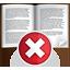 book, delete