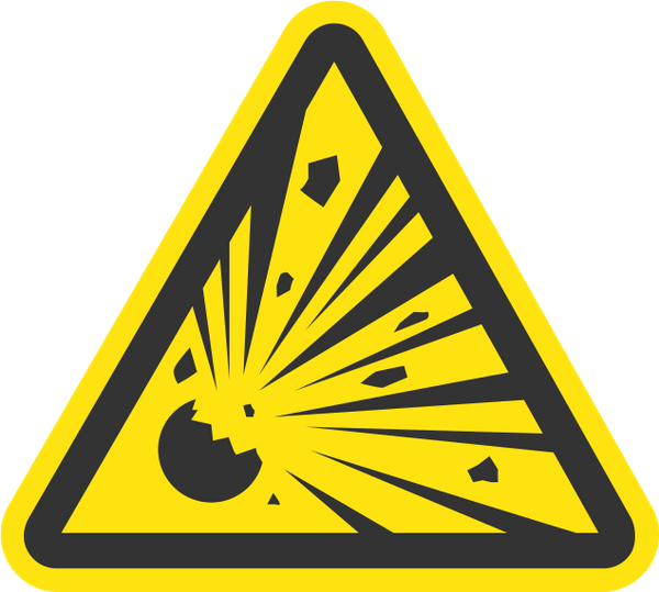 знак, предупреждающие знаки, знак опасность, взрывоопасно, sign, warning signs, danger sign, explosive, zeichen, warnzeichen, gefahrenzeichen, explosiv, signe, signes avant-coureurs, signe de danger, explosif, señal, señales de advertencia, señal de peligro, segno, segnali di pericolo, segnale di pericolo, esplosivo, sinal, sinais de alerta, sinal de perigo, explosivo, попереджувальні знаки, знак небезпека, вибухонебезпечно