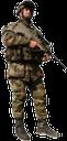 воин, солдат с автоматом, солдат, автомат, камуфляж, каска, современный воин, бронежилет
