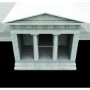 archient treasury, казначейство, parthenon, парфенон, здание, building