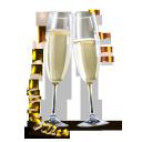 champagne, by, artdesigner.lv