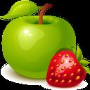 зеленое яблоко, клубника, фрукты, ягоды, green apple, strawberry, berries, grüner apfel, erdbeere, frucht, beeren, pomme verte, fraise, fruit, baies, manzana verde, fresa, fruta, bayas, mela verde, fragola, frutta, bacche, maçã verde, morango, frutas, bagas, зелене яблуко, полуниця, фрукти, ягоди