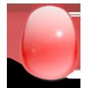 huevo, rojo, luz