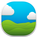 jpg, nature, clouds, green hills