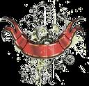 цветочные узоры, floral patterns, квіткові візерунки, красная лента, red ribbon, blumenmuster, rotes band, motifs floraux, ruban rouge, estampados de flores, cinta roja, motivi floreali, nastro rosso, padrões florais, fita vermelha, червона стрічка