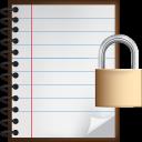 notes, lock