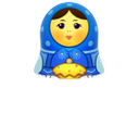 blue, matreshka, up