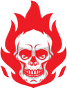 череп, пламя, языки пламени, огонь, красный, skull, flame, flames, fire, red, schädel, flammen, feuer, rot, crâne, flamme, flammes, feu, rouge, cráneo, llama, llamas, fuego, rojo, teschio, fiamma, fiamme, fuoco, rosso, crânio, chama, chamas, fogo, vermelho, полум'я, язики полум'я, вогонь, червоний
