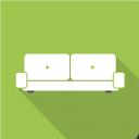 иконка диван, иконка мебель, флэт иконки, icon sofa, furniture icon, flat icons, іконка диван, іконка меблі, флет іконки