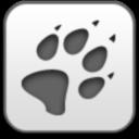 track, wolf paw, волк, лапа, след