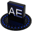 after effects blue
