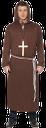 монах, костюм монаха, косплей, церковь, крест, коричневый, monk, monk costume, brown, church, cross, ein mönch, ein mönch kostüm, braun, kirche, kreuz, un moine, un costume de moine, brun, église, croix, un monje, un disfraz de monje, marrón, iglesia, un monaco, un costume da frate, marrone, chiesa, croce, um monge, um traje de monge, cosplay, marrom, igreja, cruz, костюм ченця, коричневий, церква, хрест