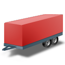 прицеп, автоприцеп, трейлер, car trailer, red, caravan, trailer, причіп, автопричіп