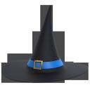 halloweenhat, blue