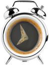 кофе, черный кофе, круглый будильник, чашка кофе в виде будильника, часы, coffee, black coffee, round alarm clock, a cup of coffee in the form of an alarm clock, kaffee, schwarzer kaffee, rund wecker, eine tasse kaffee in form eines weckers, café noir, rond réveil, une tasse de café sous la forme d'une horloge d'alarme, café negro, reloj de alarma redondo, una taza de café en la forma de un reloj de alarma, caffè, caffè nero, sveglia rotonda, una tazza di caffè in forma di una sveglia, café, café preto, despertador redondo, uma chávena de café na forma de um despertador