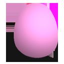 huevo, rosa, mate