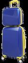 багаж, чемодан на колесах с ручкой, чемодан для вещей, дорожный чемодан, чемодан для путешествий, luggage, a suitcase on wheels with a handle, a suitcase for things, a travel suitcase, a suitcase for traveling, reisegepäck, koffer auf rädern mit griff, koffer für kleidung, koffer, koffer für die reise, bagages, valise à roulettes avec poignée, valise pour les vêtements, valises, valise pour voyage, equipaje, maleta con ruedas y manija, maleta para la ropa, maletas, maleta para viajar, bagaglio, valigia su ruote con manico, valigia per i vestiti, valigie, valigia per il viaggio, bagagem, mala de viagem nas rodas com punho, mala de roupas, malas, mala de viagem para o curso, синий