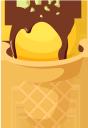 мороженое, мороженое в вафельном стакане, фруктовое мороженое, десерт, ice cream, ice cream in a waffle glass, fruit ice cream, eiscreme, eiscreme in einem waffelglas, fruchteis, nachtisch, crème glacée, glace dans un verre à gaufres, glace aux fruits, helado, helado en un vaso de waffle, helado de fruta, postre, gelato, gelato in cialda, gelato alla frutta, dessert, sorvete, sorvete em um copo de waffle, sorvete de frutas, sobremesa, морозиво, морозиво у вафельному стакані, фруктове морозиво