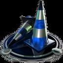 vlc player blue