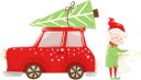 новый год, новогодняя ёлка, автомобиль, маленький эльф, помощник санта клауса, рождество, праздник, new year, christmas tree, car, little elf, santa claus helper, christmas, holiday, neues jahr, weihnachtsbaum, kleiner elf, weihnachtsmann-helfer, weihnachten, feiertag, nouvel an, arbre de noël, voiture, petit lutin, aide du père noël, noël, vacances, año nuevo, árbol de navidad, coche, elfo pequeño, ayudante de santa claus, navidad, día de fiesta, anno nuovo, albero di natale, auto, piccolo elfo, aiutante di babbo natale, natale, vacanza, ano novo, árvore de natal, carro, pequeno elfo, ajudante de papai noel, natal, férias, новий рік, новорічна ялинка, автомобіль, маленький ельф, помічник санта клауса, різдво, свято