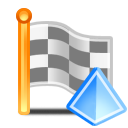 square flag pyramid 128