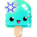 sparkles (15) turquoise snowflakes