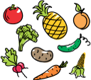овощи, фрукты, ананас, помидор, огурец, персик, картофель, салат, редис, морковь, кукуруза, vegetables, pineapple, tomato, peach, cucumber, lettuce, radish, potatoes, carrots, corn, gemüse, obst, tomaten, pfirsich, gurken, kopfsalat, radieschen, kartoffeln, karotten, légumes, fruits, tomates, pêches, concombre, laitue, radis, pommes de terre, les carottes, le maïs, verduras, piña, melocotón, lechuga, rábano, patatas, zanahorias, maíz, ortaggi, frutta, ananas, pomodori, pesche, cetrioli, lattuga, ravanelli, patate, carote, mais, legumes, frutas, abacaxi, tomate, pêssego, pepino, alface, rabanete, batata, cenoura, milho, овочі, фрукти, помідор, огірок, картопля, морква, кукурудза