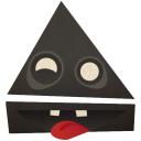 eject, извлечь, треугольник, triangle