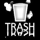 recycle bin empty sparkling