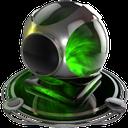 webcam green