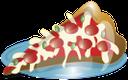 еда, фаст фуд, пицца, кусочек пиццы на тарелке, slice of pizza on a plate, essen, ein stück pizza auf einem teller, nourriture, tranche de pizza sur une plaque, comida rápida, rebanada de pizza en una placa, food, fetta di pizza su un piatto, alimentos, fast food, pizza, fatia de pizza em uma placa