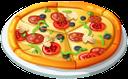 еда, пицца, пицца с салями, food, pizza with salami, essen, pizza mit salami, nourriture, pizza salami, pizza con salami, il cibo, la pizza, la pizza con salame, alimentos, pizza, pizza com salame, їжа, піца, піца з салямі