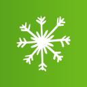 snow particle christmas clip art