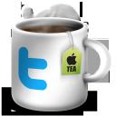 twitter, твиттер, tea cup, чашка чая, social network, соцсеть, социальная сеть