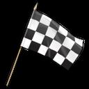 checkered, flag