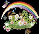 ромашка полевая, радуга, бабочка, цветы, daisy field, rainbow, butterfly, flowers, daisy-feld, regenbogen, schmetterling, blume, pâquerette, arc en ciel, papillon, fleur, campo de la margarita, arco iris, mariposa, margherita campo, arcobaleno, farfalla, fiore, campo da margarida, arco íris, borboleta, flor, ромашка польова, веселка, метелик, квіти