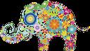 цветы, цветочный узор, слон из цветов, цветочный слон, flowers, floral pattern, elephant, elephant of flowers, floral elephant, blumen, blumenmuster, elefanten, ein elefant von blumen, blumen elefanten gemacht, fleurs, motif floral, éléphant, un éléphant en fleurs, fleur éléphant, estampado de flores, un elefante hecho de las flores, elefante de la flor, fiori, motivo floreale, un elefante fatto di fiori, fiori elefante, flores, teste padrão floral, elefante, um elefante feito de flores, elefante flor, квіти, квітковий узор, слон, слон з квітів, квітковий слон