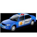 полицейская машина, автомобиль, blue, police car, transport, car, поліцейська машина, транспорт, автомобіль