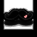 icon reflect sonrix, moustache