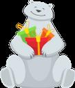 белый медведь, новогодние подарки, подарочная коробка, новый год, праздник, polar bear, christmas gifts, gift box, new year, holiday, eisbär, weihnachtsgeschenke, geschenkbox, neues jahr, feiertag, ours polaire, cadeaux de noël, coffret cadeau, nouvel an, vacances, oso polar, regalos de navidad, caja de regalo, año nuevo, vacaciones., orso polare, regali di natale, scatola regalo, anno nuovo, vacanze, urso polar, presentes de natal, caixa de presente, ano novo, feriado, білий ведмідь, новорічні подарунки, подарункова коробка, новий рік, свято