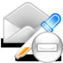 extract mail delete