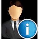 business, user, info