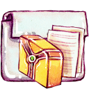 folder, library